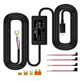 VANTRUE 10ft Mini USB 12V-24V à 5V Kit de câblage câblé avec Mini/ACS / ATO / Micro2 Ajouter Un Porte-fusible de Circuit, Protection Basse Tension N2 Pro / N2 / X3 / T2 / N1 Pro / X1 Dash Cam