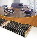 Riscaldamento elettrico a pavimento a rotolamento ware laminato parquet riscaldamento a infrarossi riscaldamento a pavimento 160Watt