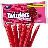 Twizzlers Pull n Peel Cherry 396g Bag