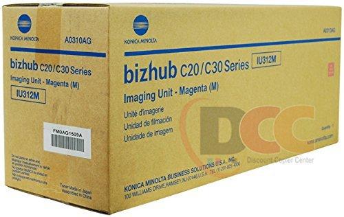 Genuine Konica Minolta IU312M Magenta Imaging Unit for Bizhub C20 C30P C31P A0310AG by Bizhub -