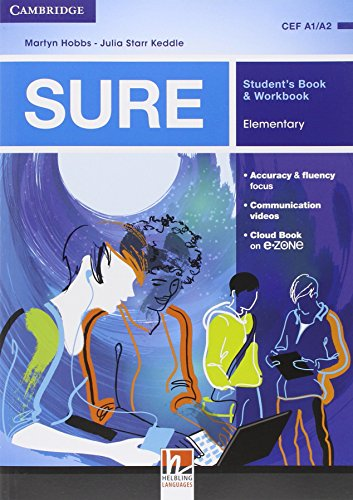 sure-elementary-multimedia-pack-students-book-workbook-per-le-scuole-superiori-con-e-book-con-espans