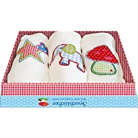 Baby Charms birp panno, colori assortiti, 48x 48cm, modello # 93978