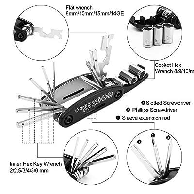 Strauss ST-1350 Steel Bicycle Repair Tool Kit