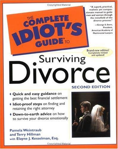 The Complete Idiot's Guide to Surviving Divorce by Pamela; Hillman, Terry; Kesselman, Elayne J. Weintraub (1999-08-01)
