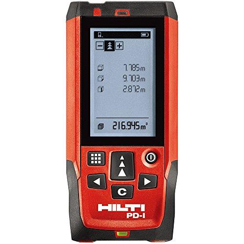 Hilti PD i Laser Range Meter 150m/492ft, Entfernungsmesser Handheld Entfernungsmesser Entfernungsmesser messen Diastimeter, professionelle Highlight Display Mess-Werkzeug (Laser-mess-gerät)