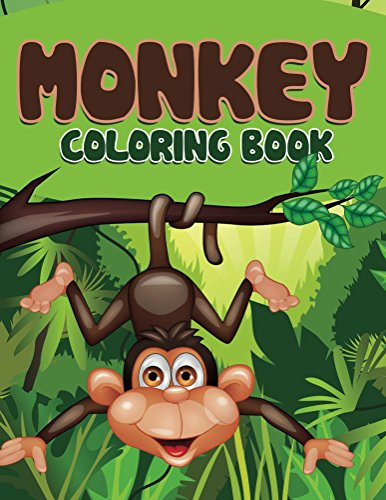 Monkey Coloring Book: Coloring Books for Kids (Art Book Series)