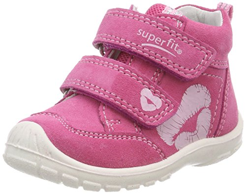 Superfit Baby Mdchen Softtippo Sneaker, Pink (Pink Kombi), 26 EU