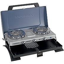 Campingaz Serie XCELERATE 400ST doble quemador con tostadora campamento estufa estufa de Camping con tostadora, color azul