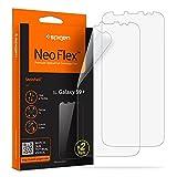 Spigen Pellicola Protettiva Samsung Galaxy S9 Plus, Neoflex, 2Pezzi, Compatibile con la Cover, Non Vetro, Pellicola Galaxy S9 Plus Protezione per Schermo (593FL22900)