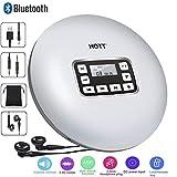 CCHKFEI Tragbarer Bluetooth-CD-Player mit LED-Anzeige, Persönliche CD-Musik-Disc-Player für Kinder Erwachsene Studenten Walkman CD Player