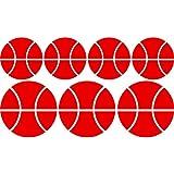Smart Wild–Sport Set de juego de baloncesto bolas (35cm x 60cm) elegir color 18colores en stock baño, Childs Dormitorio, sala de niños pegatinas, vinilo de coche, Windows y adhesivo decorativo para pared, de pared Windows Art, dodoskinz, diseño de vinilo adhesivo ThatVinylPlace