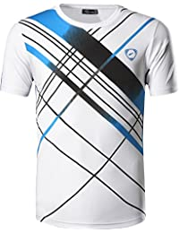 jeansian Homme De Sport Outdoor Quick Dry Short Sleeved Men's Tee Tops T-Shirt LSL133