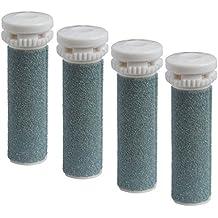 Scholl Express Pedi Hard Skin Remover–recambio compatibles para rodillos de repuesto (4unidades).