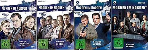 Preisvergleich Produktbild Morden im Norden Staffel 1-4 (1+2+3+4) Heiter bis tödlich [DVD Set]