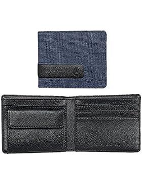 Nixon Showout Bi-fold Snap Coin Wallet -Spring 2017- Blue Wash