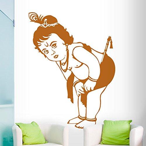 DeStudio Krishna Flip Chalkboard Wall Decal, Size XXX Large & Color : BROWN