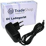 Trade-Shop 6V Netzteil Ladegerät Stromadapter Passend für Boso Medicus Blutdruckmessgeräte ersetzt TB-233C 410-7-150 für Prestige Serie, Control Serie, UNO Serie, Familiy Serie