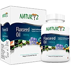 Naturyz Flaxseed Oil (Omega 3-6-9) 1000 mg -60 Softgel Capsules