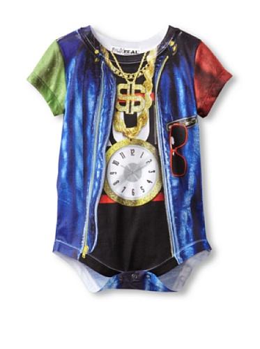 Faux Real Baby 80's Rapper Kostüm