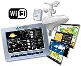 Station Météo Sans Fil WeatherRanger avec WiFi et Publication en Temps Réel sur Internet + GUIDE DES DÉBUTANTS DE 30 PAGES INCLUS (LIVREL)!