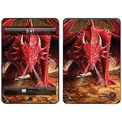 Diabloskinz - Vinilo adhesivo para iPad Mini, diseño de dragón