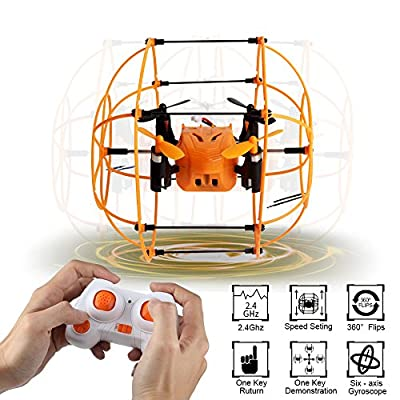 Sky Walker Helic Max 1336(better than 1306) 6 Axis Mini RC Quadcopter 360 Flip, Automatic Mode Flying in Circles RTF 2.4GHZ