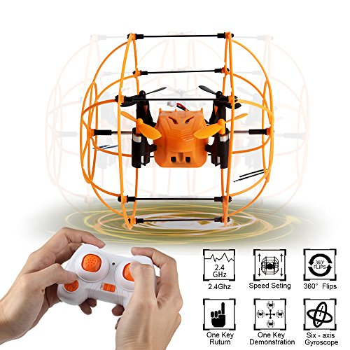 Sky Walker Helic Max 1336(happier than 1306) 6 Axis Mini RC Quadcopter 360 Twirling, Unplanned Soup Flying in Circles RTF 2.4GHZ