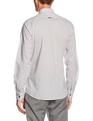 Antony Morato Camicia Manica Lunga, Camicia da Uomo Bianco