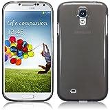 TBOC® Funda de Gel TPU Negra para Samsung Galaxy S4 i9500 de Silicona Ultrafina y Flexible