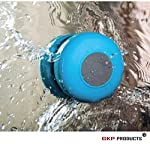 Waterproof Blutooth shower Speaker -You can enjoy your favourite music, no matter where you are. The waterproof Bluetooth shower speaker gives you the Advantage of superior sound along with music portability. This portable wireless speaker connect to...