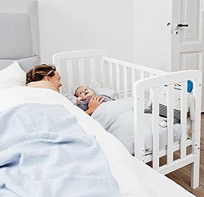 Baby Dan - Minicuna de colecho comfort alfred blanco