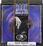 SIT RBS50105L Set de 4 cordes pour basse électrique Rock Brights Stainless Medium (.050RBS - .070 - .085 - .105)