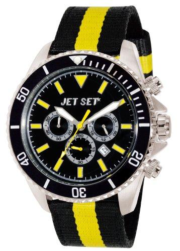 Jet Set Herren Chronograph Quarz Uhr J21203-20