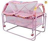 Baybee Cocoon Swing Cradle (Pink)