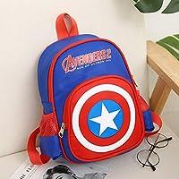 RosewineC School Bag Spiderman Backpack Captain America Batman For Boys Children School Backpack Super Hero Design
