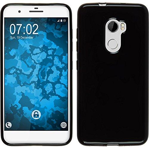 PhoneNatic Case für HTC One X10 Hülle Silikon schwarz, Cover