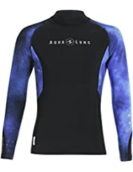 Aqualung Galactic Blue Homme Rash Guard longue XL