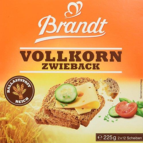 Brandt Vollkorn-Zwieback, 225 g Packung Test