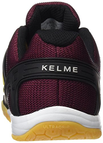 Kelme Subito 4.0, chaussures de football mixte adulte Rouge (bordeaux)