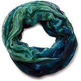 styleBREAKER Flammen Muster Batik Style Loop Schlauchschal 01018041