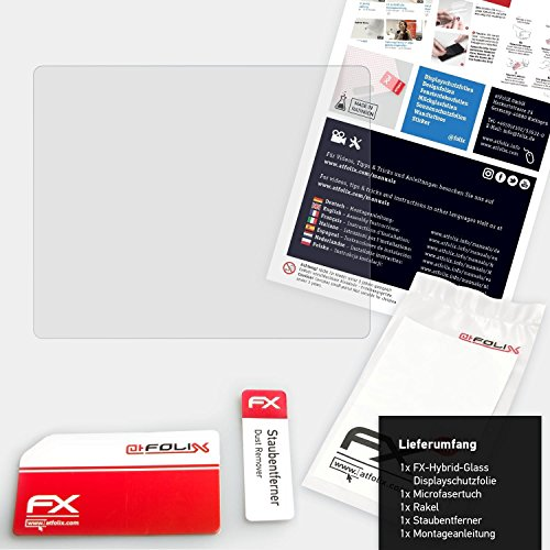 Set di 1 atFoliX Pellicola Protettiva in Vetro plastica per Panasonic Lumix DC-G9 Pellicola Vetro 9H Hybrid-Glass FX Vetro temperato da plastica protettivo