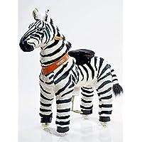PonyCycle Zebra Wheeled-Rocking Horse-Size Medium