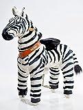 Ponycycle - Zèbre à roulettes - Cheval à bascule - Taille Moyen