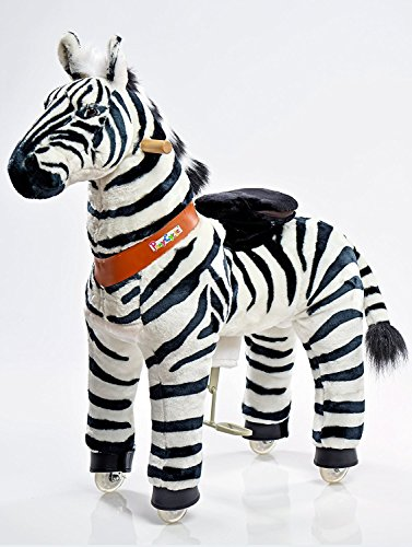 Ponycycle–Zebra Trolley–Schaukelpferd–Größe Mittel