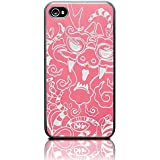 iSkin DRGIP4-PK2 Coque pour iPhone 4/S Rose