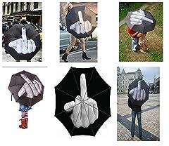 Idea Regalo - Ombrello dito medio up Yours-Ombrello/parasole Ella Ella