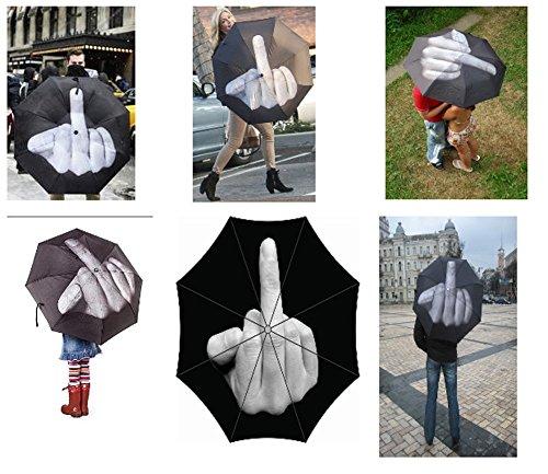 Paraguas Middle Finger Up Yours paraguas / paraguas