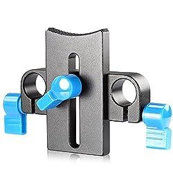 Neewer® Professional Flexible Lens Rod Support Mount Clamp Holder Bracket for DSLR Rigs 15mm Rod Rail System