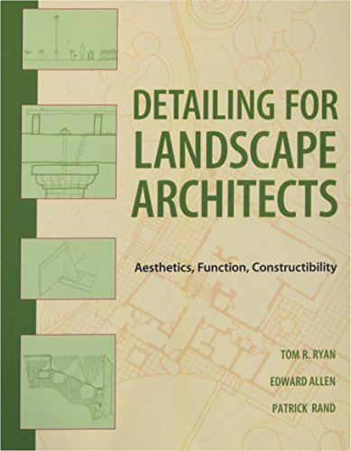Detailing for Landscape Architects: Aesthetics, Function, Constructibility