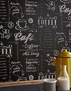 Tazza di caff nero bianco carta da parati fai for Carta da parati prezzi bassi